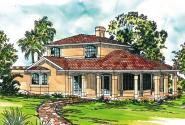 Mediterranean House Plan - Southport 11-149 - Front Elevation