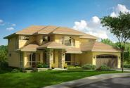 Mediterranean House Plan - Summerdale 31-013 - Front Elevation
