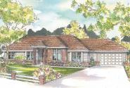 Ranch House Plan - Brennon 30-359 - Front Elevation
