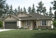 Ranch House Plan - Dahlia 31-041 - Front Elevation