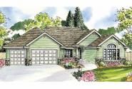 Ranch House Plan - Dalneigh 30-709 - Front Elevation