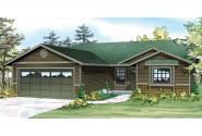 Ranch House Plan - Foster 30-846 - Front Elevation