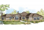 Ranch House Plan - Hillcrest 10-557 - Front Elevation