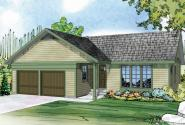 Ranch House Plan - Kenton 10-587 - Front Elevation