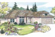 Ranch House Plan - Lindgren 11-122 - Front Elevation