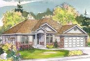 Ranch House Plan - Marlowe 30-362 - Front Elevation