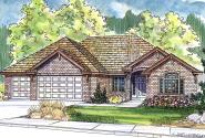 Ranch House Plan - Ryland 30-336 - Front Elevation