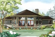 View Lot House Plans - View Lot Home Plans - Associated Designs