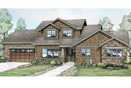 Shingle Style House Plan - Cloverport 30-802 - Front Elevation