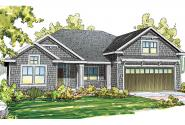 Shingle Style House Plan - Springbrook 30-805 - Front Elevation