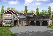 Traditional House Plan - Braircliff 31-054 - Traditional House Plan