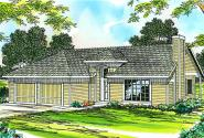 Traditional House Plan - Coulee 10-220 - Front Elevation