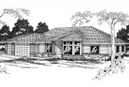 Traditional House Plan - Fernridge 10-175 - Front Elevation