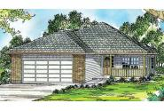 Traditional House Plan - Holly 30-115 - Front Elevation