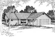 Traditional House Plan - Manning 10-108 - Front Elevation