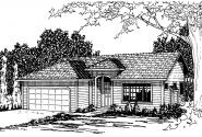 Traditional House Plan - Norden 10-216 - Front Elevation