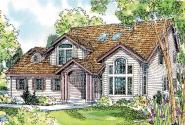 Traditional House Plan - Olivia 30-219 - Front Elevation