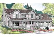 Traditional House Plan - Thornebury 30-605 - Front Elevation