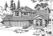 Traditional House Plan - Valemont 30-163 - Front Elevation