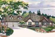 Tuscan House Plan - Meridian 30-312 - Front Elevation