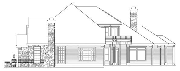 Macleod - 30-120 - Estate Home Plan - Right Elevation
