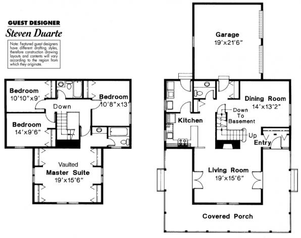 Eldora - 41-005 - Country Home Plans - Floor Plan