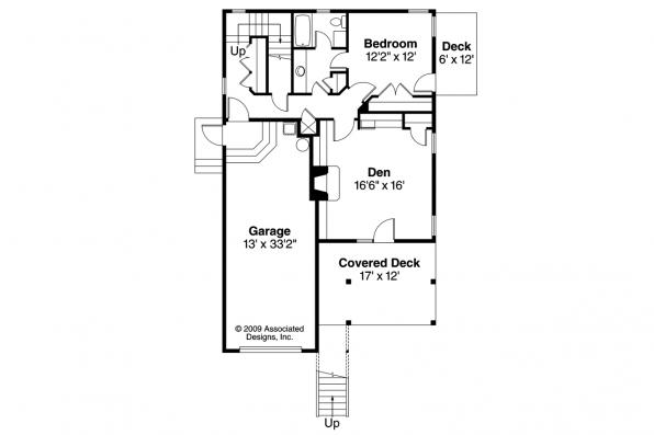 Contemporary House Plan - Glenview 30-687 - 2nd Floor Plan