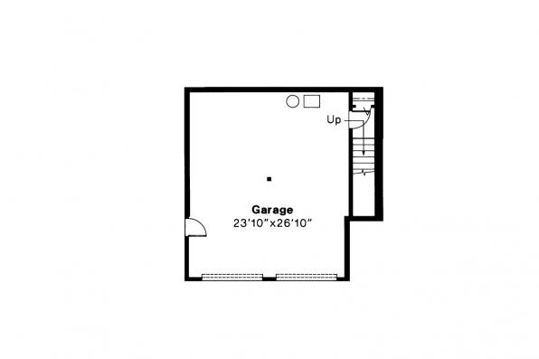 Contemporary House Plan - Lenox 30-066 - Garage Floor Plan