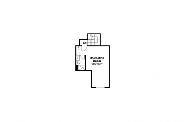 Cottage House Plan - Allenspark 30-700 - 2nd Floor Plan