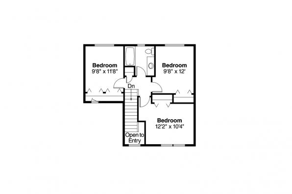 Country House Plan - Aldridge 30-321 - 2nd Floor Plan