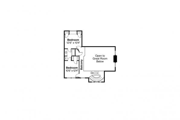 Country House Plan - Atkinson 30-060 - 2nd Floor Plan