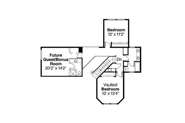 Country House Plan - Auburn 10-046 - 2nd Floor Plan