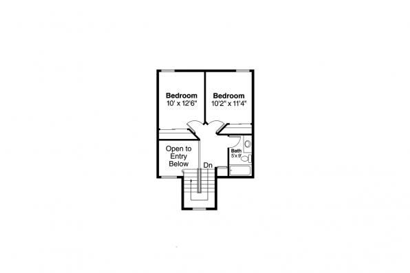 Country House Plan - Birmingham 10-206 - 2nd Floor Plan