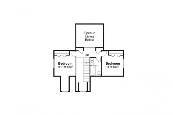 Country House Plan - Chatham 30-623 - 2nd Floor Plan