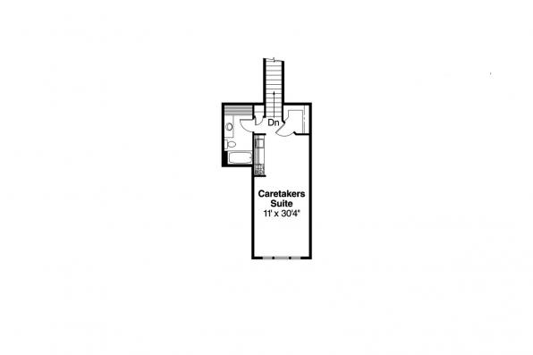 Country House Plan - Elmore 30-168 - 2nd Floor Plan