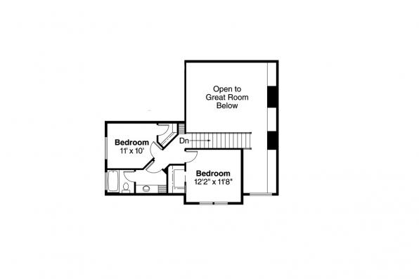 Country House Plan - Everett 30-176 - 2nd Floor Plan