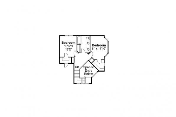 Country House Plan - Heartstone 10-200 - 2nd Floor Plan