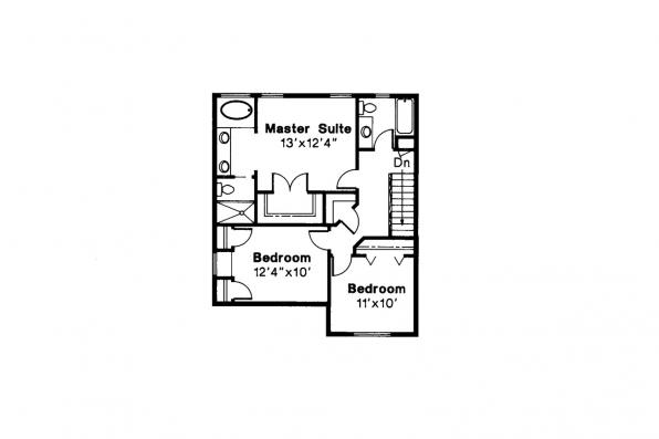 Country House Plan - Hudson 30-086 - 2nd Floor Plan