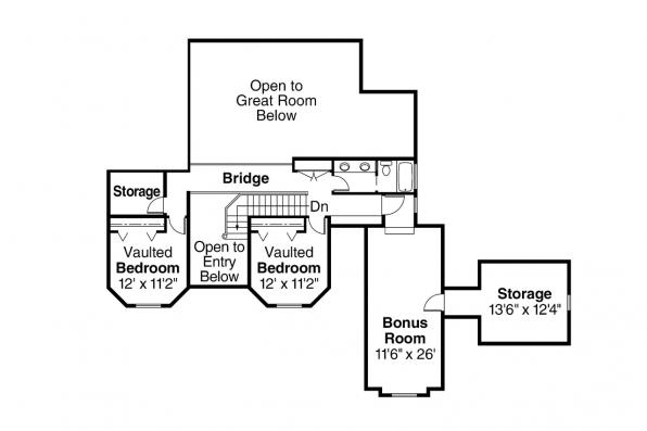 Country House Plan - Loveland 30-282 - 2nd Floor Plan