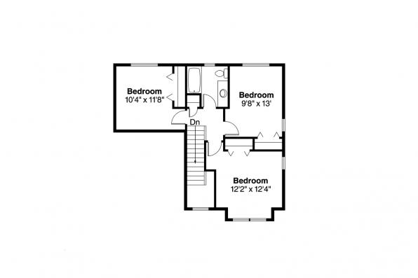 Country House Plan - Paisley 30-852 - 2nd Floor Plan