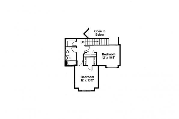 Country House Plan - Selkirk 30-119 - 2nd Floor Plan