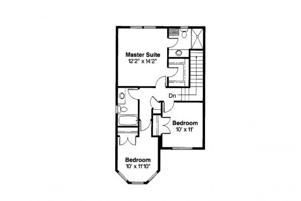 Craftsman House Plan - Baywood 30-118 - 2nd Floor Plan