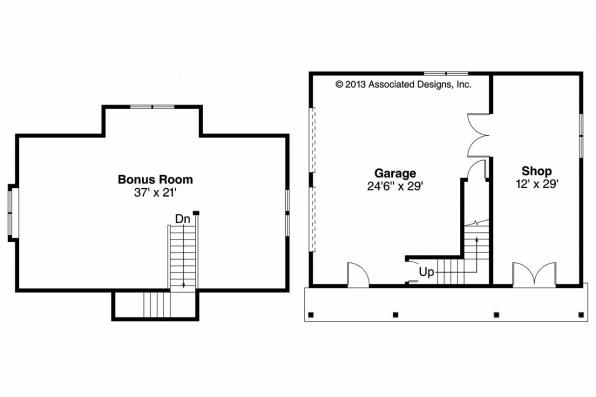 Garage Plan 20-060 - Floor Plan