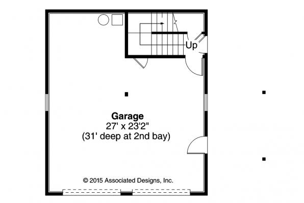 Garage Plan 20-063 - First Floor Plan