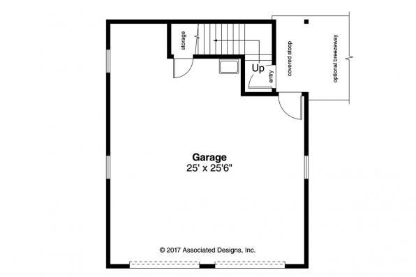 Garage Plan 20-189 - First Floor Plan