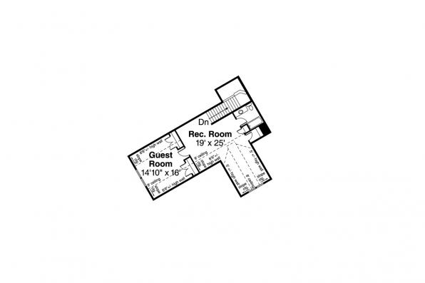 Lodge Style House Plan - Silverton 30-757 - Second Floor Plan