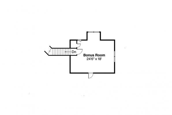 Ranch House Plan - Maxwell 30-458 - 2nd Floor Plan