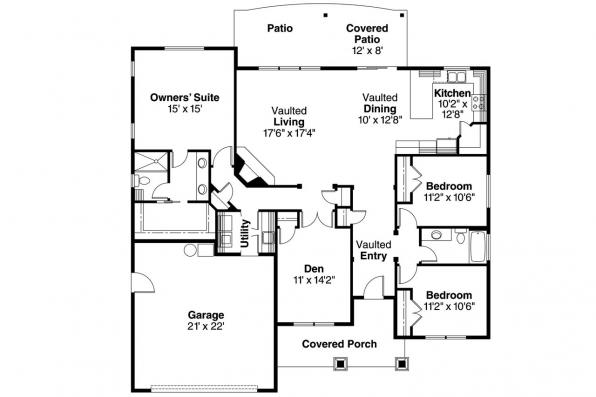 Riverside House Plans Ranch House Plans Riverside 30 658