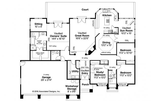 28+ [ Southwest House Plans Artesia 10 ] | Mediterranean