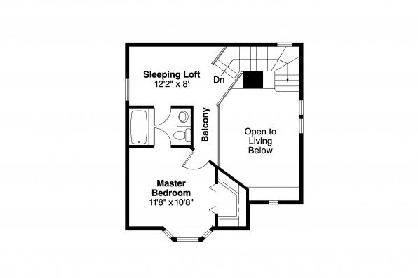 Victorian House Plan - Isabelle 42-009 - 2nd Floor Plan